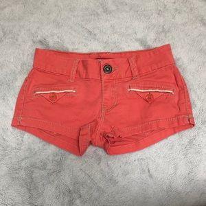 UNIONBAY orange Junior/women's size 0 shorts.